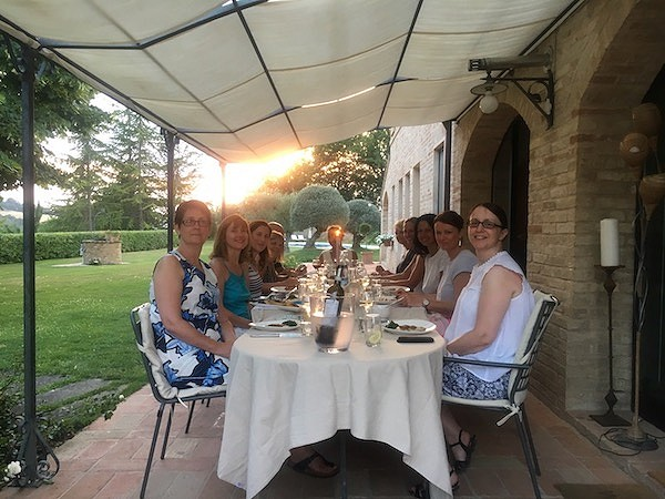 Fun evenings at Villa Prati