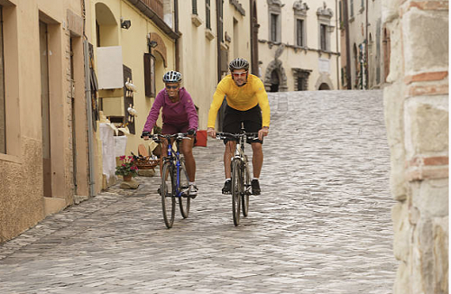 cycling holiday in Le Marche